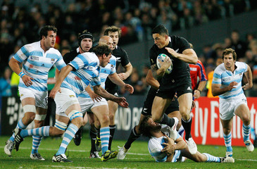 New Zealand v Argentina IRB Rugby World Cup 2011 Quarter Final