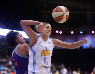 File photo of Chicago Sky guard/forward Elena Delle Donne