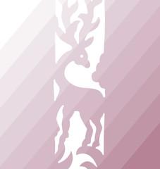 Thai art deer