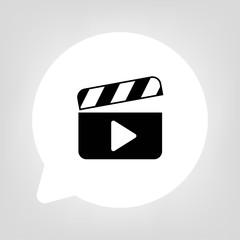 Kreis Sprechblase - Video Wiedergabe
