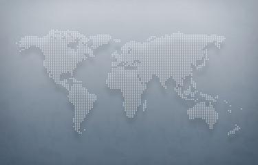 world map, digital world map, hight tech map, futureristic world map