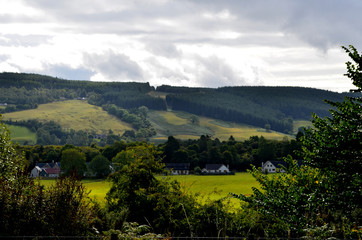 A Gorgeous Rolling Hills in the Scottish Highlands
