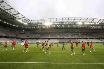 Spain Training- EURO 2016