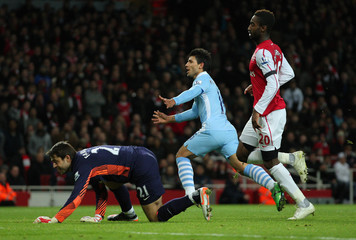 Arsenal v Manchester City Carling Cup Quarter Final