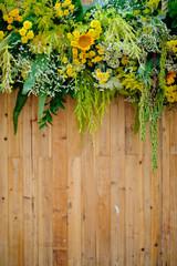 wedding flower backdrop background