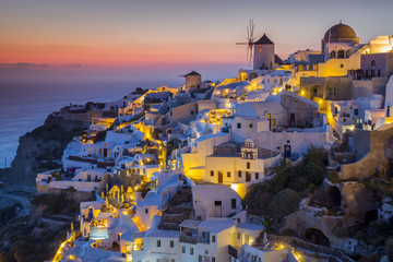 Greece, Aegean islands, Cyclades, Santorini island, Thera