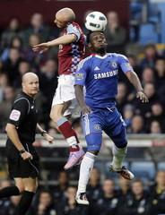 Aston Villa v Chelsea Barclays Premier League