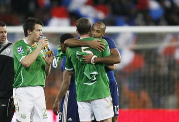 Republic of Ireland v France 2010 World Cup Qualifying European Zone - Play-Off First Leg