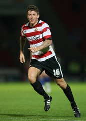 Doncaster Rovers v Leeds United Carling Cup Second Round