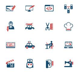 courses icon set