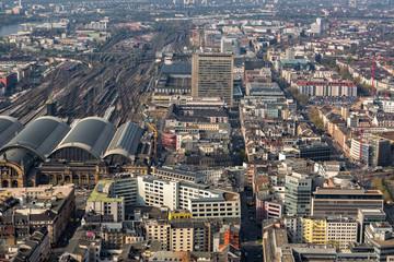 Hochhaus Gebäude in Frankfurt am Main