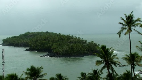 Static Clip Of The Actual Devils Island Part Of The Penal Colony In