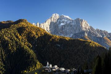 Italy, Veneto, Belluno district, Alto Agordino, Colle Santa Lucia