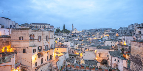 Italy, Basilicata, Matera district, Matera
