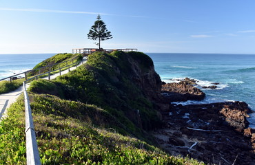 Foto auf Leinwand Kuste One Tree Point at Tuross Head. Tuross Head is a seaside village on the south coast of New South Wales Australia.