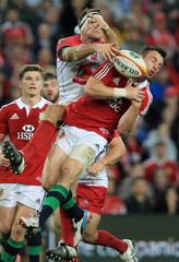 St.George Queensland Reds v British & Irish Lions - British & Irish Lions Tour To Australia 2013