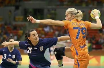 Handball - Women's Preliminary Group B Argentina v Netherlands