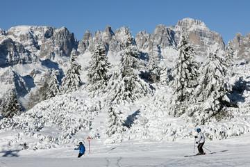 Italy, Trentino-Alto Adige, Trento district, Val di Non, Andalo