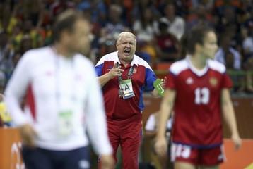 Handball - Women's Semifinal Norway v Russia