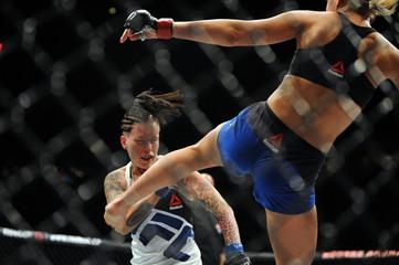 MMA: UFC Fight Night-Rawlings vs Vanzant