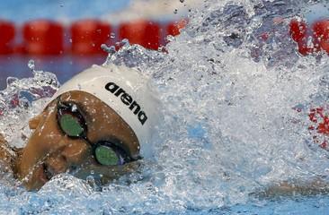 Swimming - Women's 200m Freestyle - Heats