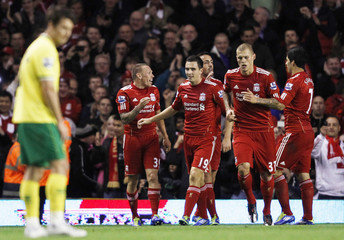 Liverpool v Norwich City Barclays Premier League