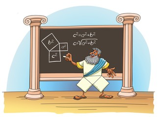 Pythagoras proved his theorem