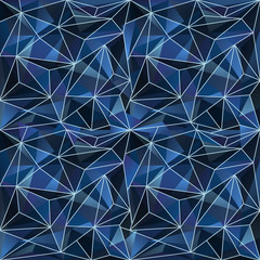 Abstractbackdrop with crystals