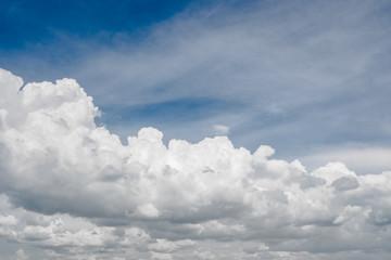 Canvas Prints Summer cloudy sky