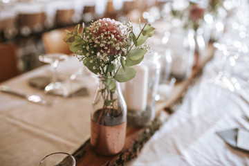 wedding flower table decoration