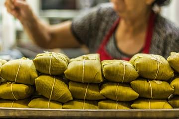 The brazilian local food Pamonha