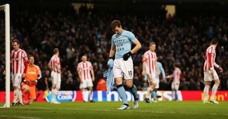Manchester City v Stoke City - Barclays Premier League