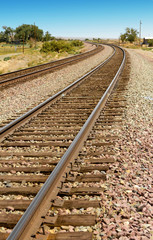 Railroad Tracks in the Country