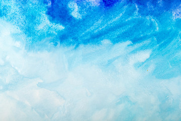 hand drawn watercolor background. Aquarelle colorful texture