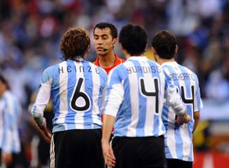 Germany v Argentina FIFA World Cup Quarter Final - South Africa 2010