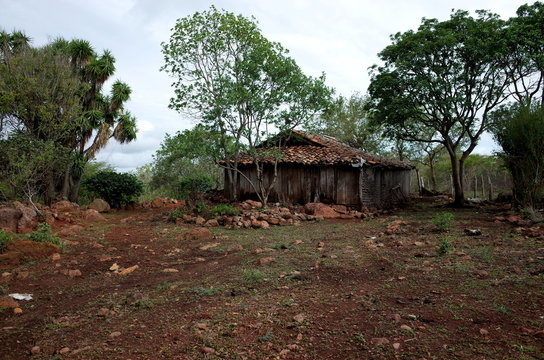 An abandoned farm in the Reserva Natural Miraflor, a popular tourist destination near Esteli in the northern mountains of Nicaragua