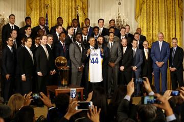 NBA: Golden State Warriors-White House Visit