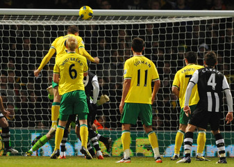 Norwich City v Newcastle United Barclays Premier League