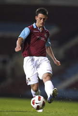 West Ham United v Manchester United FA Youth Cup Fourth Round