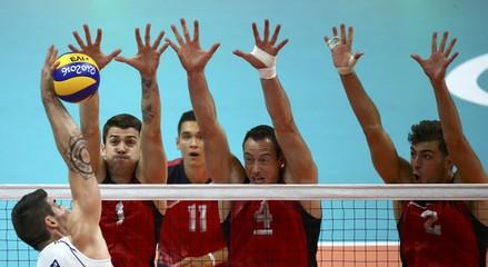 Volleyball - Men's Preliminary - Pool A Italy v USA