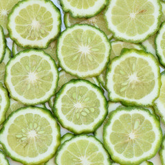 Bergamot slice background