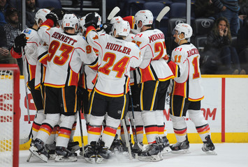 NHL: Calgary Flames at Nashville Predators