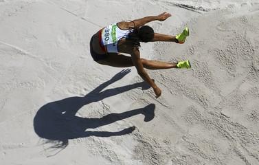 Athletics - Women's Heptathlon Long Jump - Groups