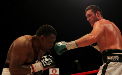 Dereck Chisora v Tyson Fury British & Commonwealth Heavyweight Title's