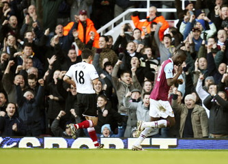 West Ham United v Fulham Barclays Premier League