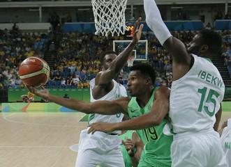 Basketball - Men's Preliminary Round Group B Nigeria v Brazil