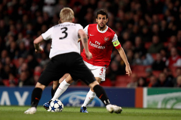 Arsenal v Shakhtar Donetsk UEFA Champions League Group Stage Matchday Three Group H