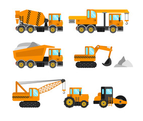 Construction machine set