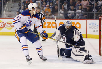 NHL: Edmonton Oilers at Winnipeg Jets