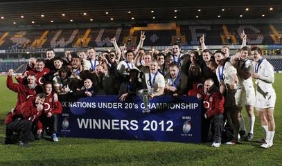 England v Ireland 2012 Under 20 Six Nations Championship